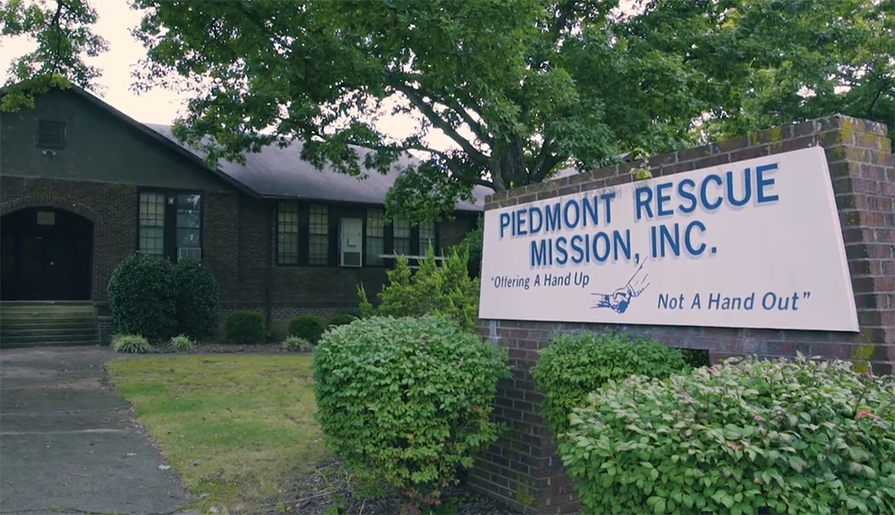 Piedmont Rescue Mission – Offering a Hand Up, Not a Hand Out