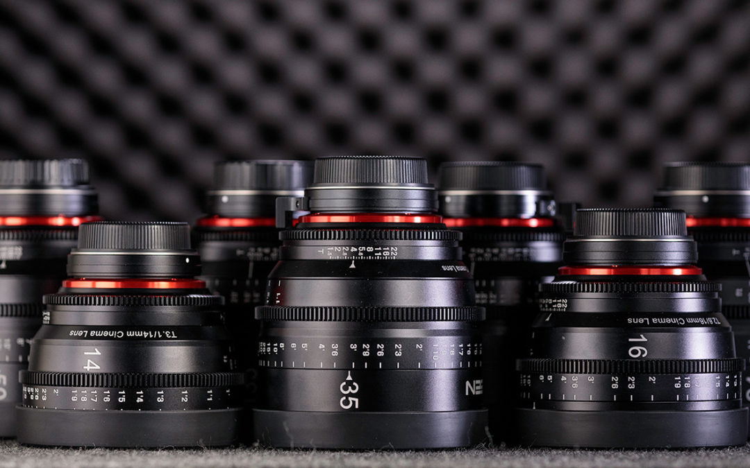We Dropped 12 Grand On NEW Cinema Lenses!