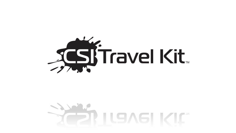 Logo Desin: CSI Travel Kit Logo